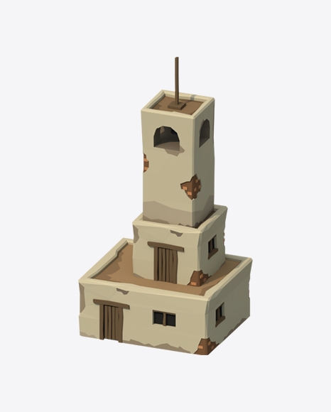 Low Poly Bell Tower