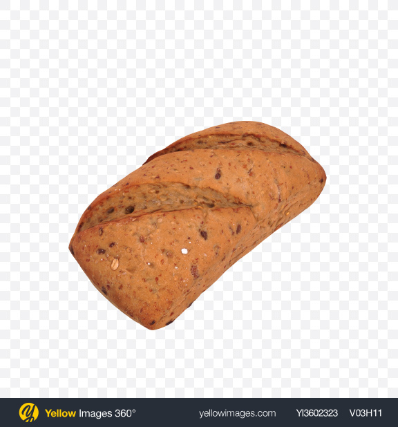 Download Oat Bread Transparent PNG on Yellow Images 360°