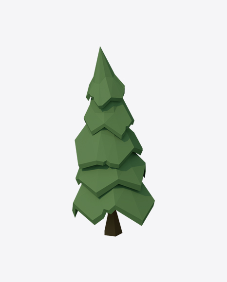 Low Poly Fir