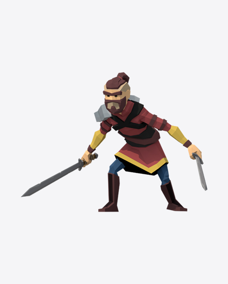 Low Poly Warrior