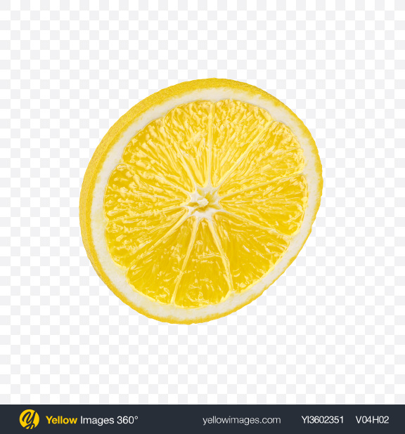 Download Slice of Lemon Transparent PNG on Yellow Images 360°