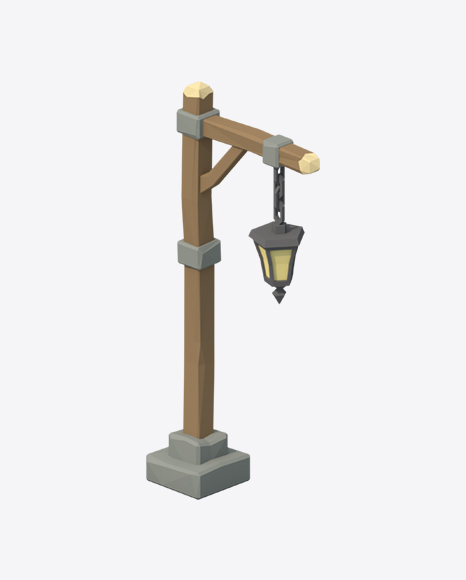 Low Poly Street Light