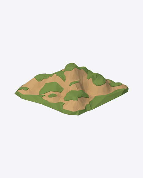 Low Poly Hill