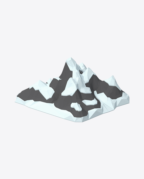 Low Poly Mountain