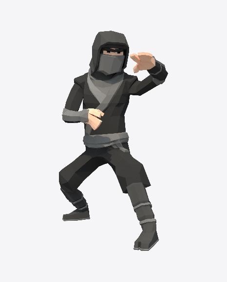 Low Poly Ninja