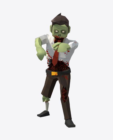 Low Poly Zombie