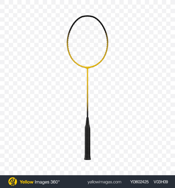 Download Badminton Racket Transparent PNG on Yellow Images 360°