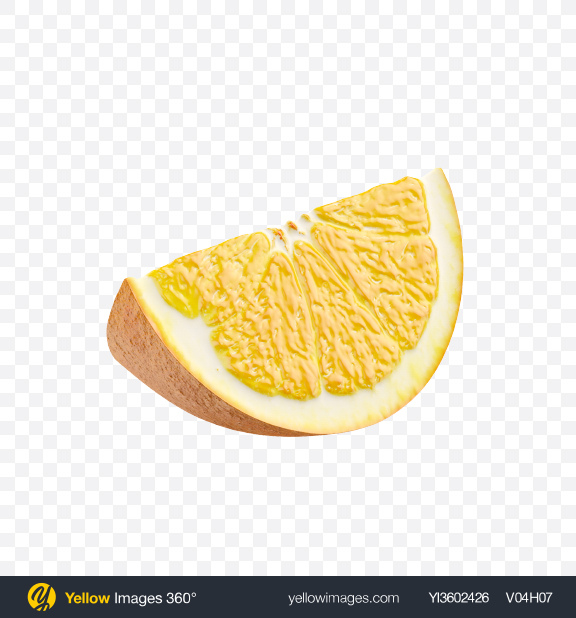 Download Wedge of Orange Transparent PNG on YELLOW Images