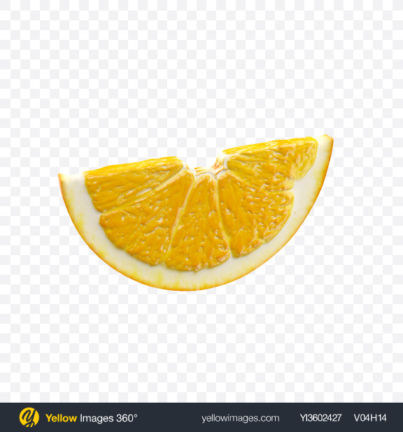 Download Slice of Orange Transparent PNG on Yellow Images 360°