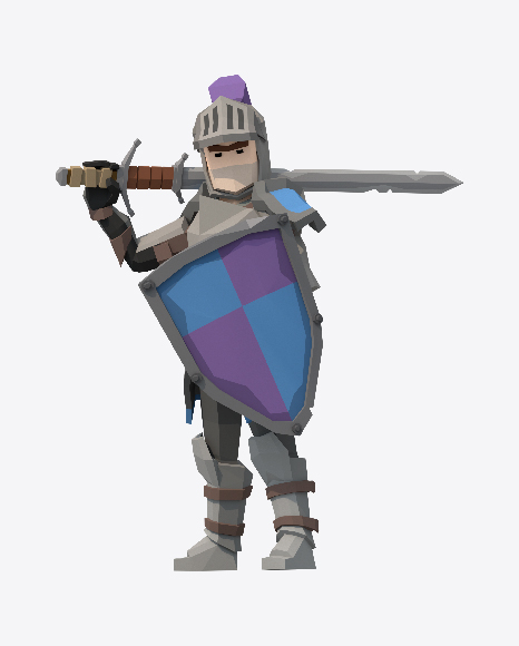 Low Poly Knight