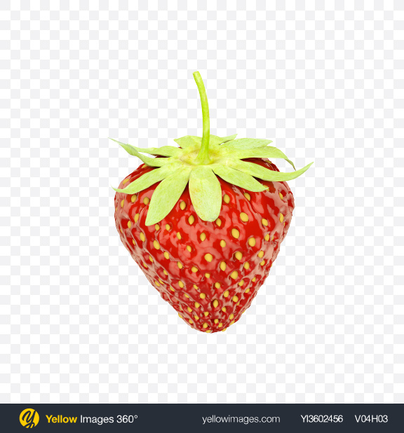 Download Strawberry Transparent PNG on Yellow Images 360°