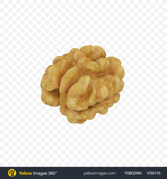 Download Walnut Transparent PNG on Yellow Images 360°