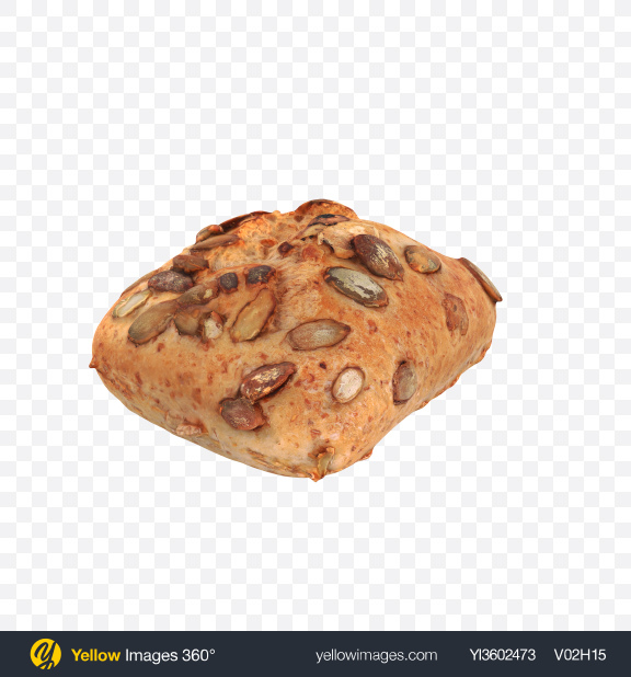 Download Pumpkin Seed Roll Transparent PNG on Yellow Images 360°