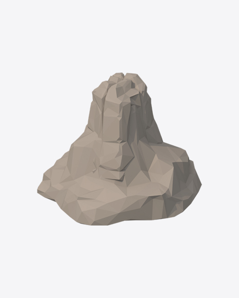 Low Poly Rock