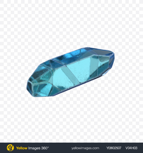 Download Blue Crystal Transparent PNG on Yellow Images 360°