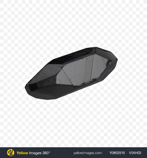Download Black Crystal Transparent PNG on Yellow Images 360°