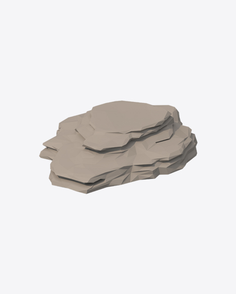 Low Poly Rock Plateau