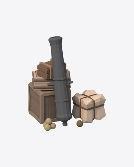 Low Poly Goods