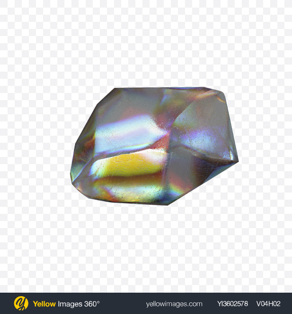 Download Highly Dispersive Gemstone Transparent PNG on Yellow Images 360°