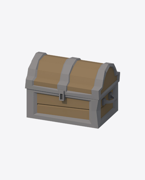 Low Poly Treasure Chest