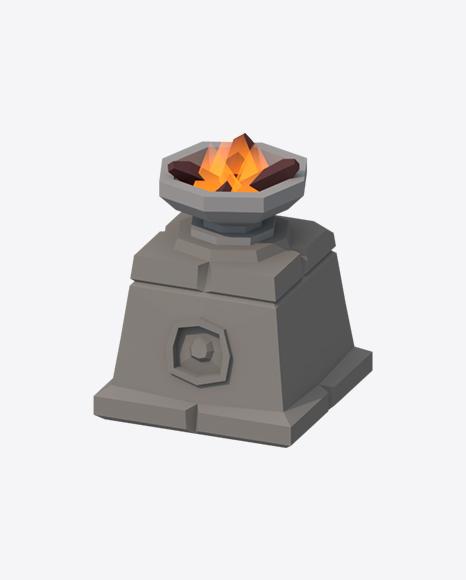 Low Poly Bonfire