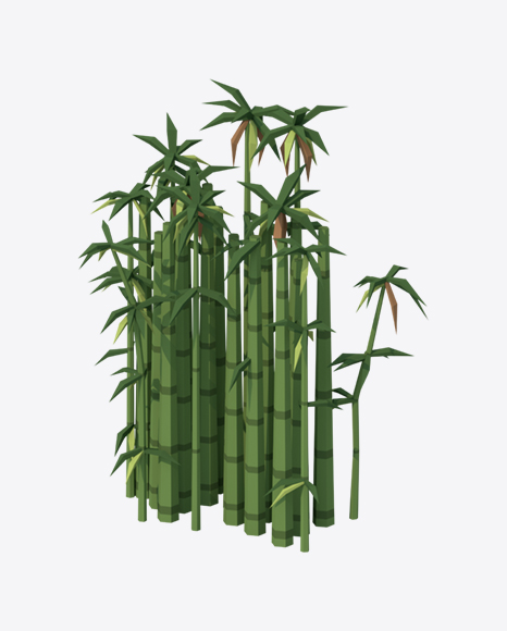 Low Poly Bamboo