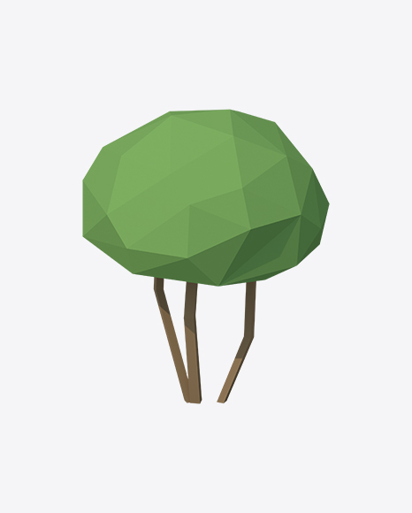 Low Poly Bush