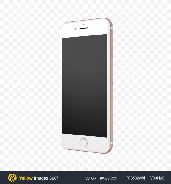 Download Apple iPhone 7 Transparent PNG on Yellow Images 360°
