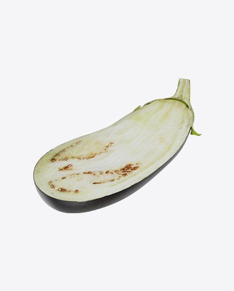 Half of Eggplant