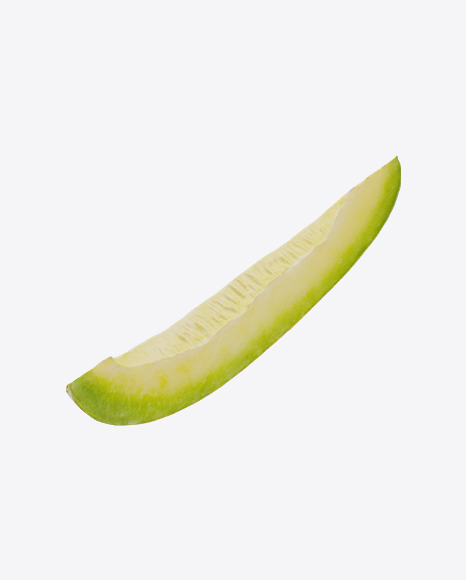 Yellow Long Melon Slice