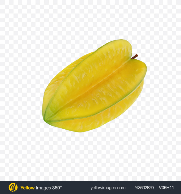 Download Star Fruit Transparent PNG on Yellow Images 360°