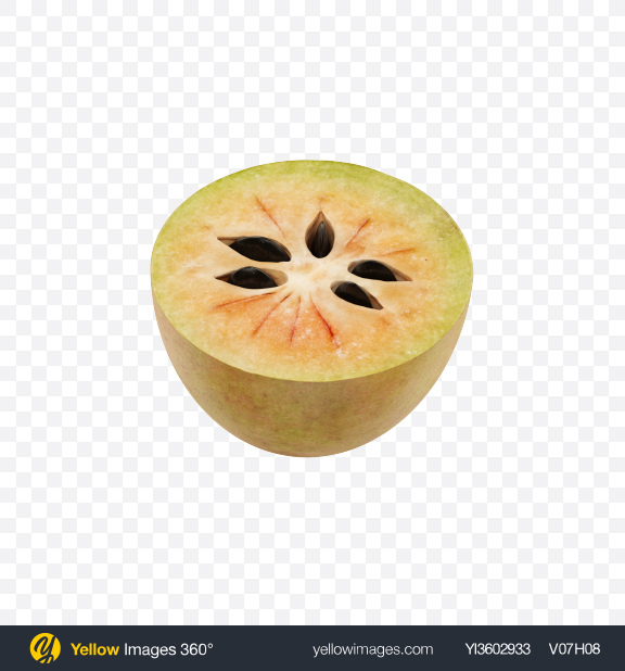 Download Half of Sapodilla Transparent PNG on Yellow Images 360°