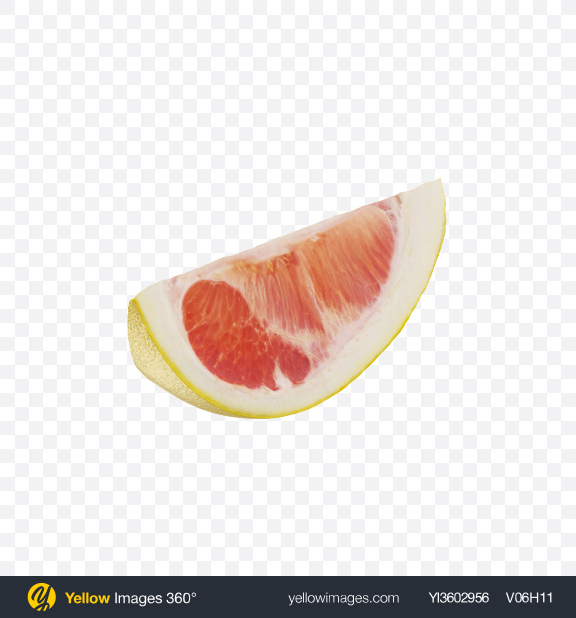 Download Yellow Pomelo Slice Transparent PNG on Yellow Images 360°