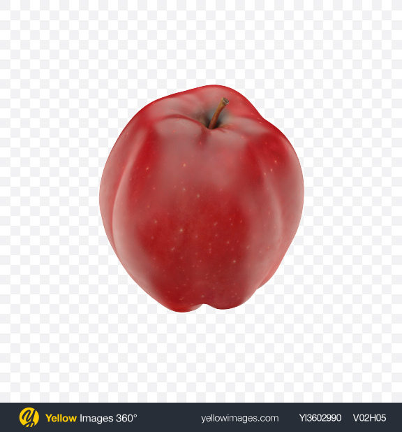 Download Red Apple Transparent PNG on Yellow Images 360°