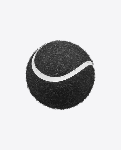 Black Tennis Ball
