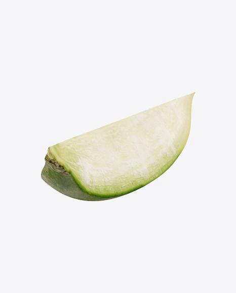 Green Radish Slice