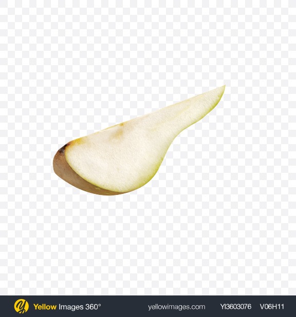 Download Conference Pear Slice Transparent PNG on Yellow Images 360°