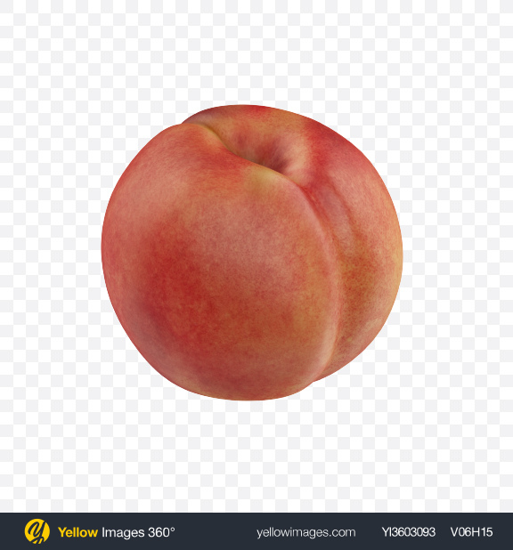 Download Peach Transparent PNG on Yellow Images 360°