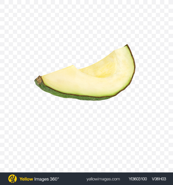 Download Avocado Slice Transparent PNG on Yellow Images 360°