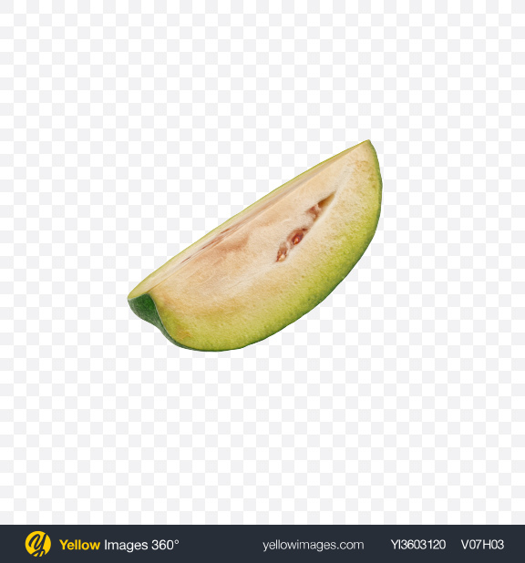 Download Feijoa Slice Transparent PNG on Yellow Images 360°
