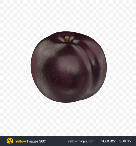 Download Black Plum Transparent PNG on Yellow Images 360°