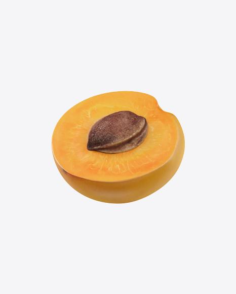 Half of Apricot