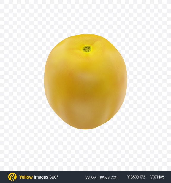 Download Yellow Cherry Tomato Transparent PNG on Yellow Images 360°
