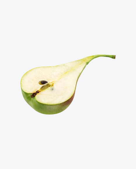 Half of Forelle Pear