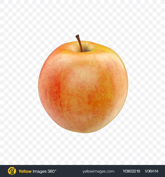 Download Gala Apple Transparent PNG on Yellow Images 360°