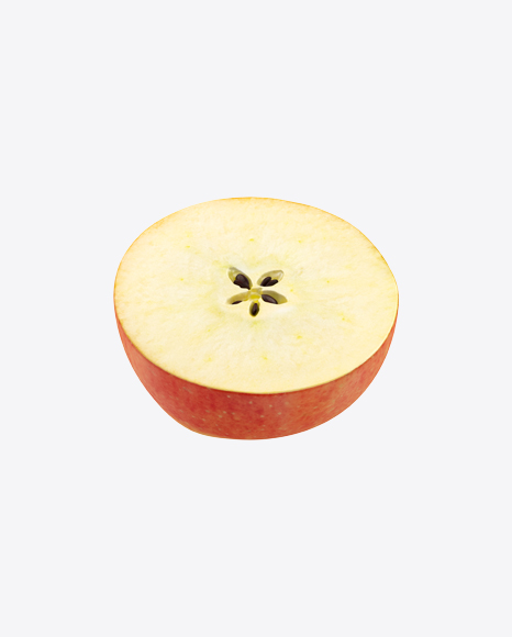 Half of Gala Apple