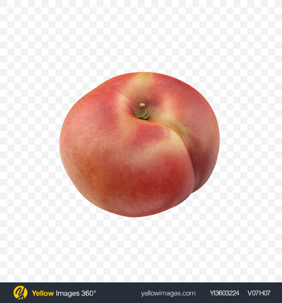 Download Flat Peach Transparent PNG on Yellow Images 360°