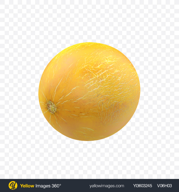 Download Melon Transparent PNG on Yellow Images 360°