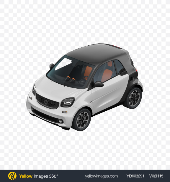 Download White City Car Transparent PNG on Yellow Images 360°