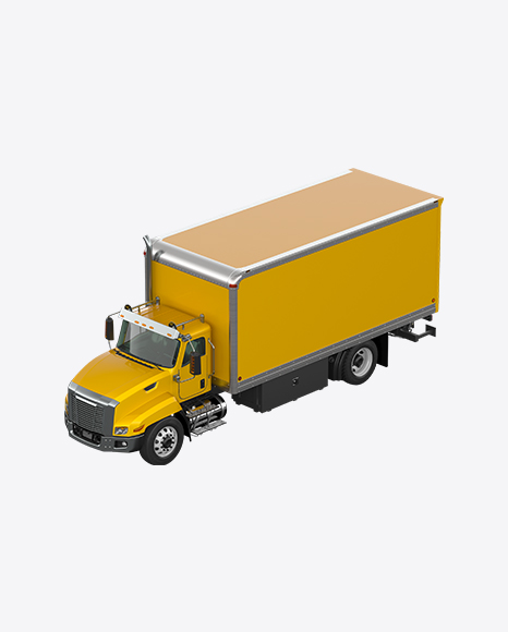 Yellow Box Truck